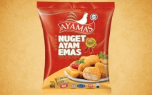AYAMAS GOLDEN CHIX NUGGET 850G