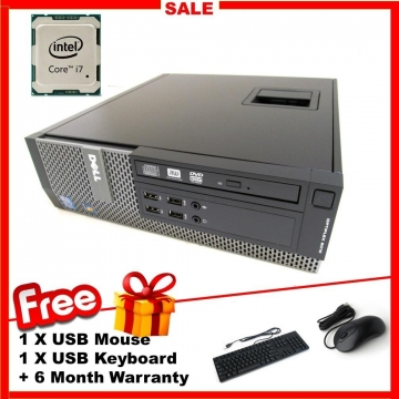 APR6nature Dell Optiplex 9020 Desktop PC Intel Core i7 4770 3 4Ghz